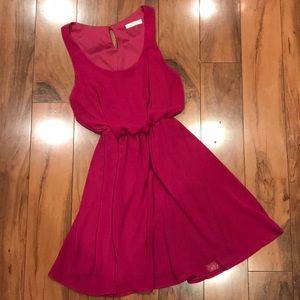 LUSH Fuschia dress